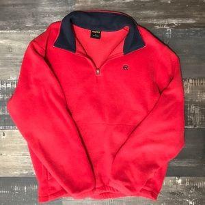 Vintage Nautica quarter zip fleece